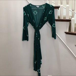 Pea in the Pod Maternity wrap dress